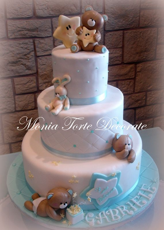 Monia Torte Decorate - Nascita e Battesimo