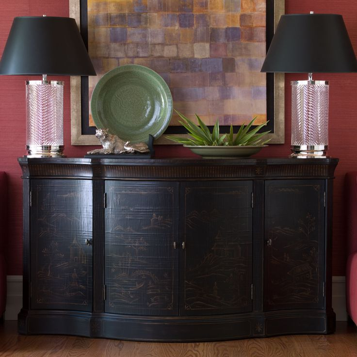 Buy Ethan Allenu0027s Vivianne Serpentine Console Or Browse Other Products In Console  Tables.