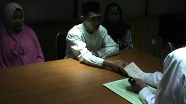 Usia Kandungan 8 Bulan, Pelaku Asusila Nikahi Korban Di Polres