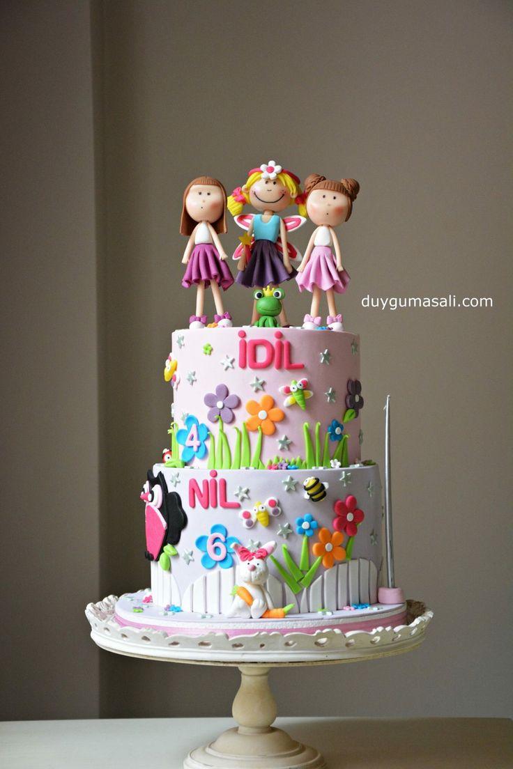 Tatlı kızlar NİL ve İDİL bu yıl çiçek perisi olmak istediler :) Doğum gününüz kutlu olsun fıstıklar duygumasali.com #çiçekperisi #flower #flowers #flowerfairy #birthdaycake #cake #dogumgunupastasi #cocukpastasi #birthdaygirl #butikpasta #sekerhamuru #edirne #edirnepasta #edirnebutikpasta #food #fondantcake #foodpics #like4like #delicious #çiçeklipasta #6th #4th