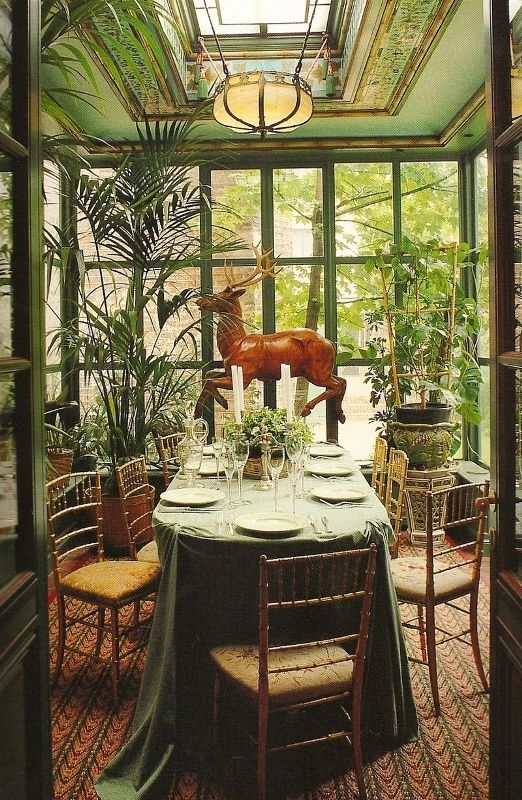 485 best enclosed porch conservatory orangery sunroom images on pinterest windows for - Sunroom dining room ...