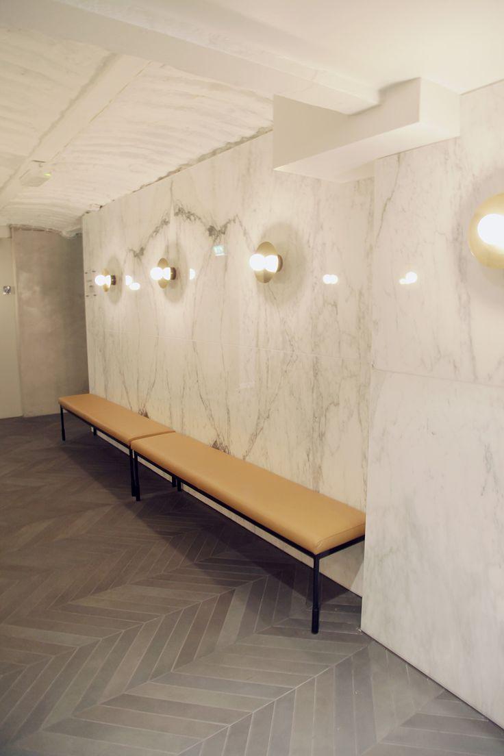 Ravintola Michel Helsinki laatat ja marmori ABL-Laatat