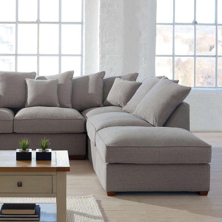 Grosvenor Scatter Back Corner Sofa Dunelm Living Room