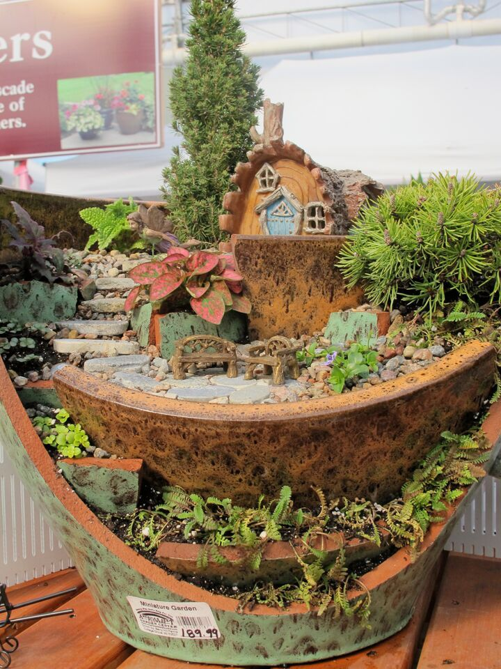 17 best images about fairy miniature gardens on pinterest gardens workshop and miniature - How to make a fairy garden container ...