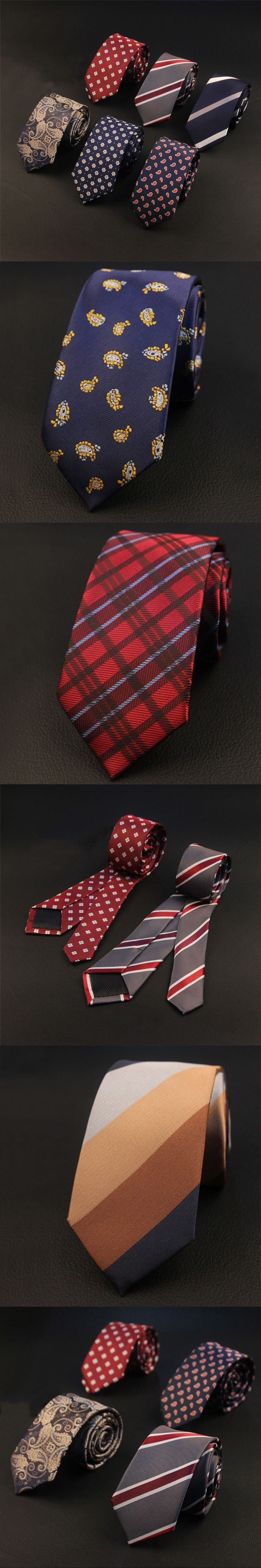 Mantieqingway Leisure Necktie Wedding Ties for Men Striped Floral 6cm Polyester Neck Tie Gravata Black Slim Vestidos Cravats Tie