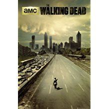 Television Maxi Poster featuring Rick Grimes in The Walking Dead Series 61x91.5cm