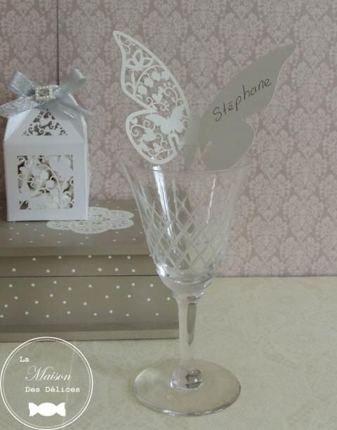 Les 168 meilleures images propos de accessoire mariage - Place du verre a eau sur une table ...