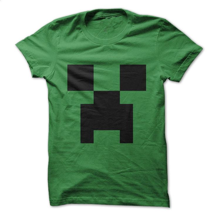Minecraft Creeper Shirt T Shirts, Hoodies, Sweatshirts - #girls #graphic hoodies. GET YOURS => https://www.sunfrog.com/Video-Games/Minecraft-Creeper-Shirt.html?60505