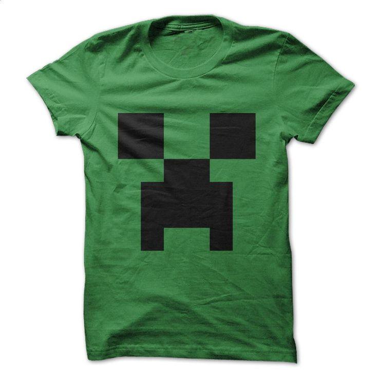 Minecraft Creeper Shirt T Shirts, Hoodies, Sweatshirts - #girls #graphic hoodies. GET YOURS => https://www.sunfrog.com/Video-Games/Minecraft-Creeper-Shirt.html?60505