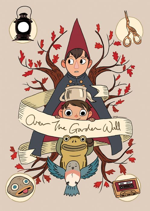 Over The Garden Wall by tohdaryl.devianta… on @D…