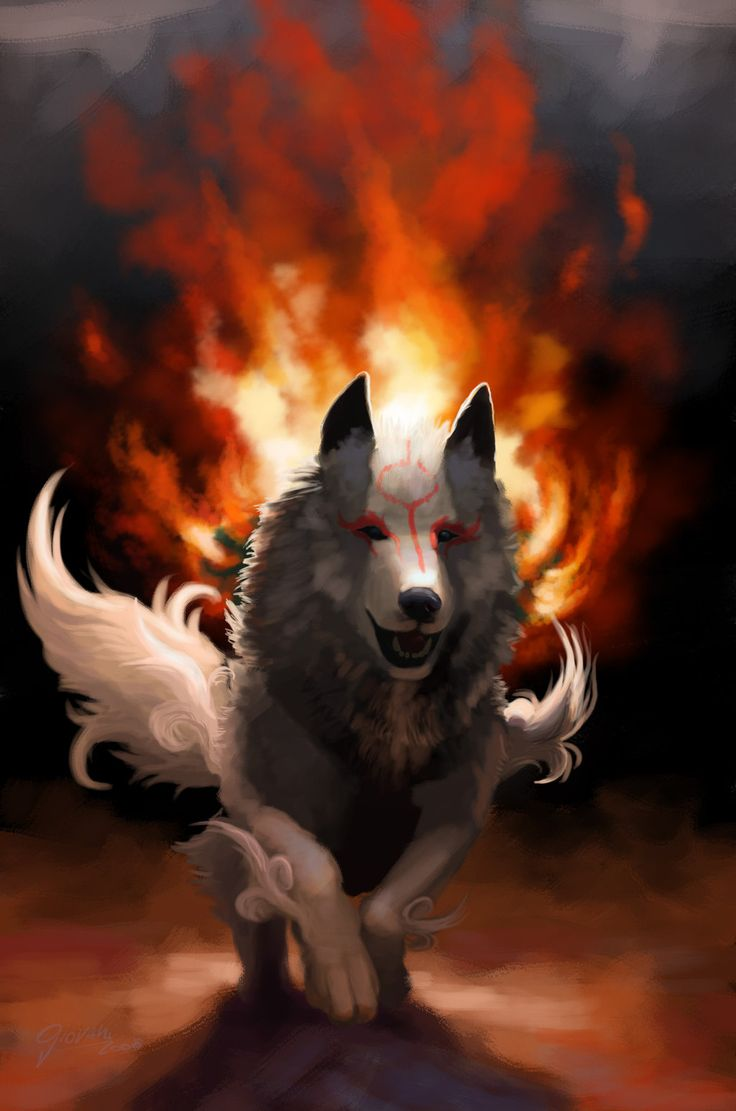 Wolf Of Fire 17 Best images ...