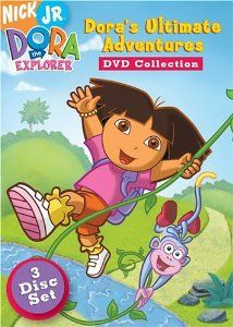 13. By now, the little girl begs mom to buy Dora episodes on DVD that she hasn't seen before.  Nickelodeon and Paramount Home Entertainment, which distributes Dora DVD's, debut new episodes on video first. Children then beg parents for the latest video rather than wait months to see the same new episodes on TV.