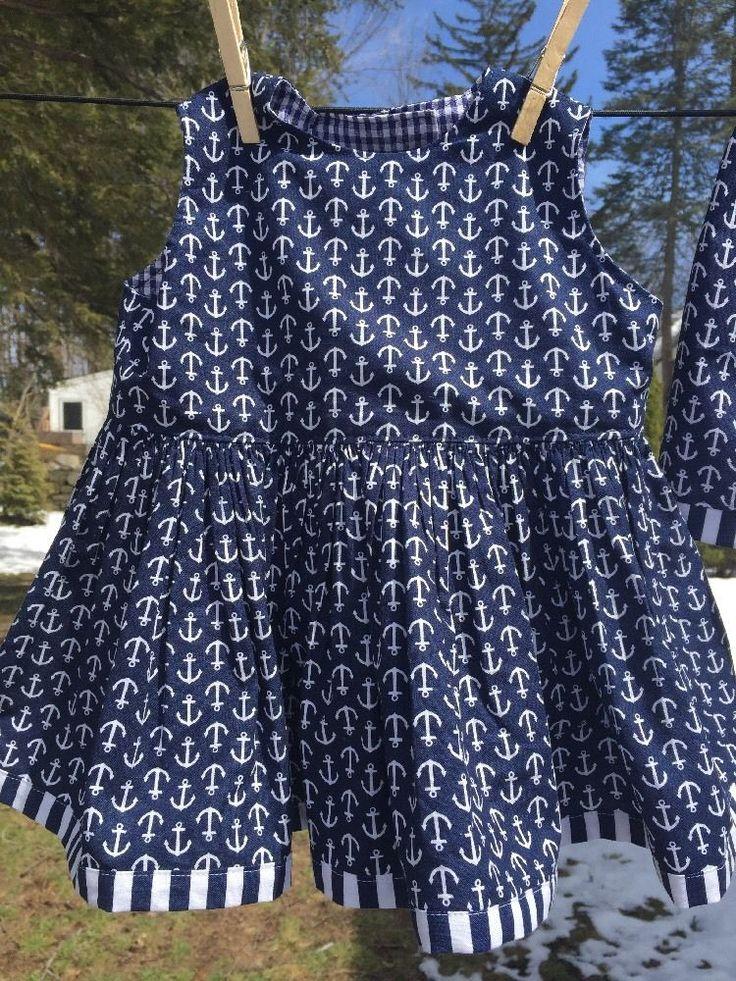 Handmade Nautical Dress Set With Shorts Size 2T  | eBay