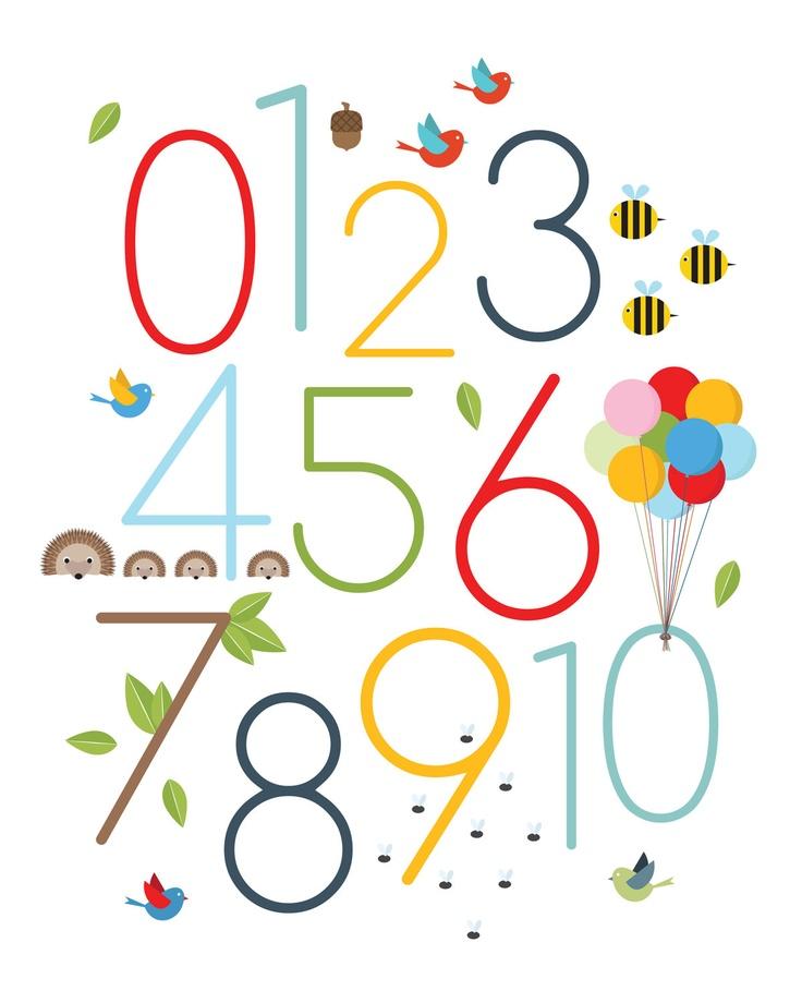 50 best The Number images on Pinterest   Child room, Letterpresses ...