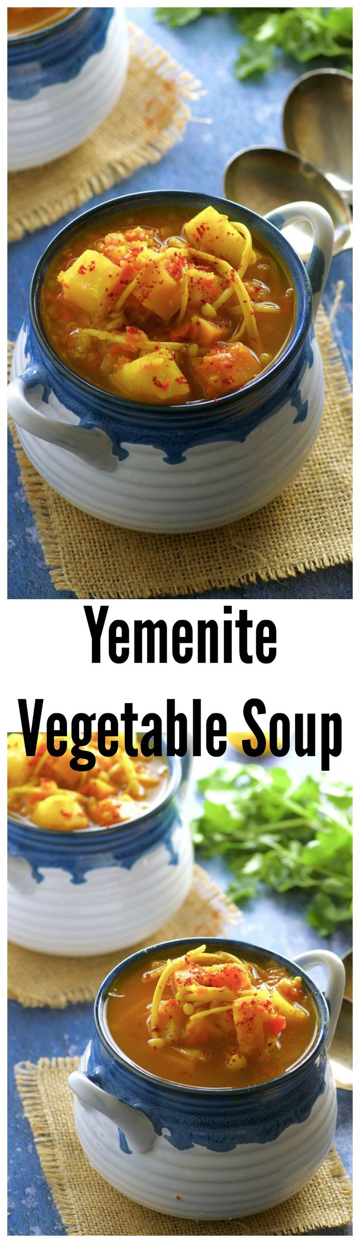 Curl up with a bowl Yemenite Vegetable Soup, read your favorite book or watch your favorite TV show. Deliciously spiced, warm and satisfying