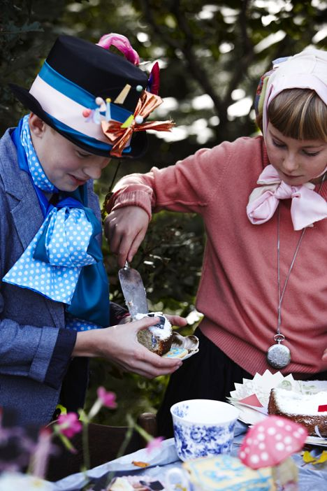 Kom til te hos Alice i Eventyrland - Boligliv stylist Nicoline Olsen