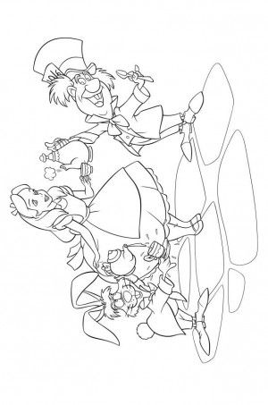 39 best Alice in wonderland coloring book images on Pinterest