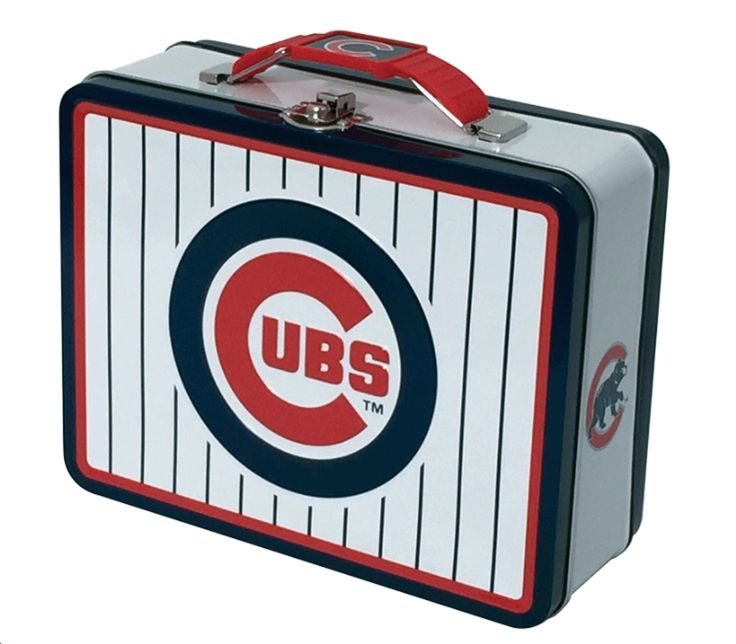 Chicago Cubs Small Metal Lunch Box Tittles Amp Bits