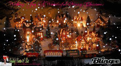 gif christmas animated scenery - Google Search | GIF-CHRISTMAS ...