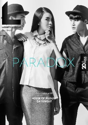 LocalBrand.co.id e-Magazine Cover | 20th edition |  Paradox Issue all wardrobe by LocalBrand.co.id Click issuu.com/... for read the e-Magazine #LocalBrandID How to buy? Visit www.localbrand.co.id Line : localbrandid SMS/WA : +62858 3015 3333 BBM : 7436815A BB channel : LocalBrand.co.id