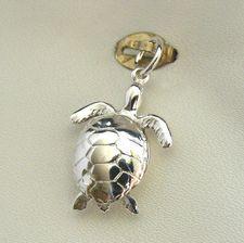 Turtle Charm - moveable - cha-2062