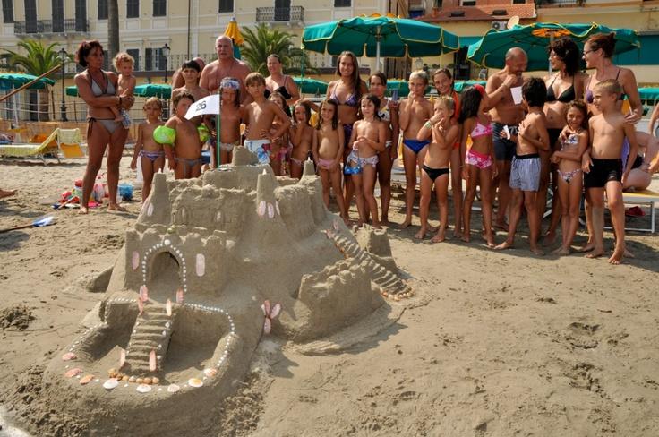 #Alassio, #Liguria, Castelli di Sabbia