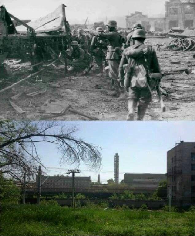 Then & Now Barrikady Gun Factory 1942