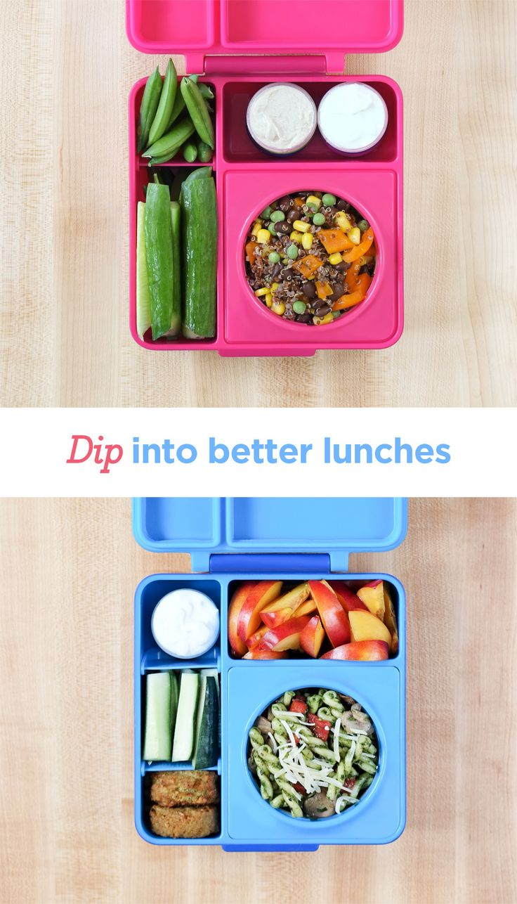 Dips make any lunch exciting!  OmieBox makes it easy to send healthy meals full of variety so your kids eat better at school.  The vacuum insulated container keeps food warm until lunchtime.  Best of all?  Your kids will tell you how much they loved your lunches.  #omiebox #lunchbox #schoollunch