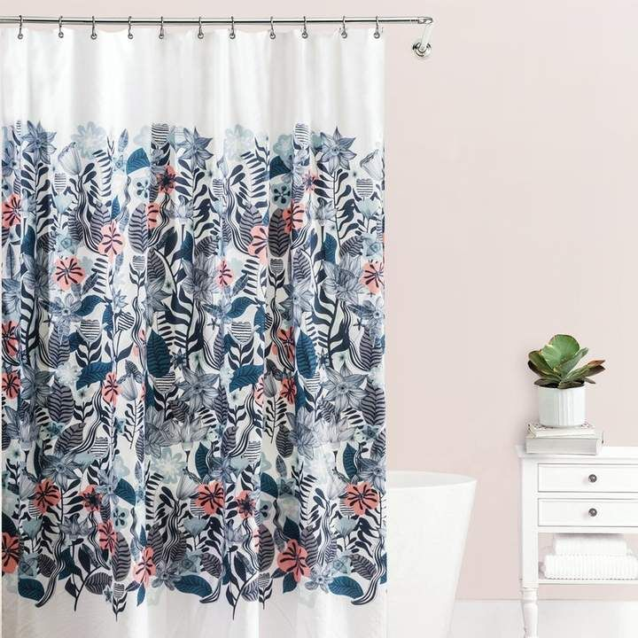 Bungalow Rose Stromsburg Fabric Single Shower Curtain With Images