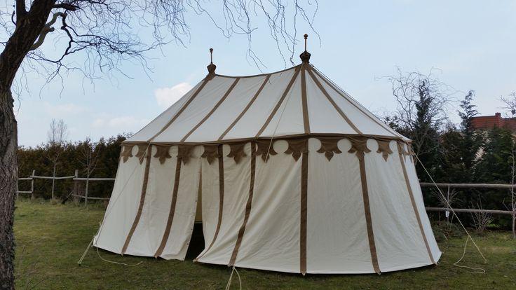 Mittelalter Zelt Deko : Speichenrad doppelzelt mittelalter zelte medieval tents