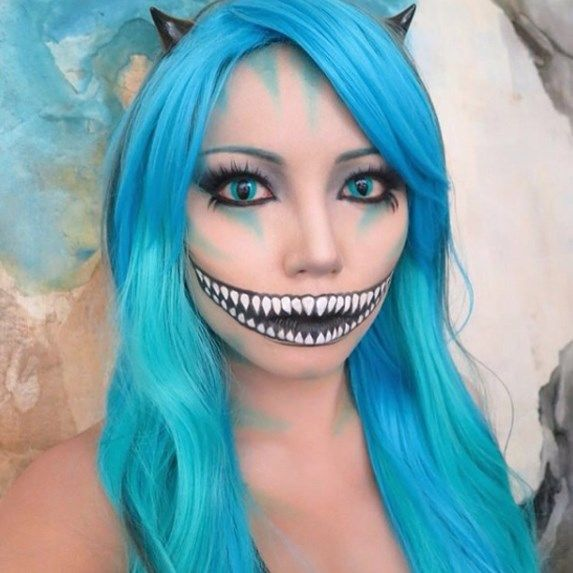 594 best halloween make up ideas images on Pinterest - cat halloween makeup ideas