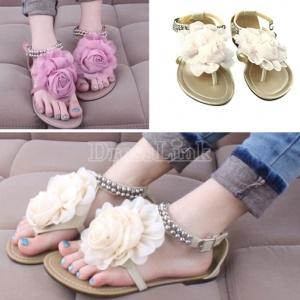 $10.60 Big Flower Leisure Sandals
