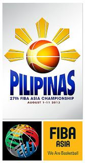 2013 FIBA Asia Championship Cup Groupings | Gilas Pilipinas on Group A