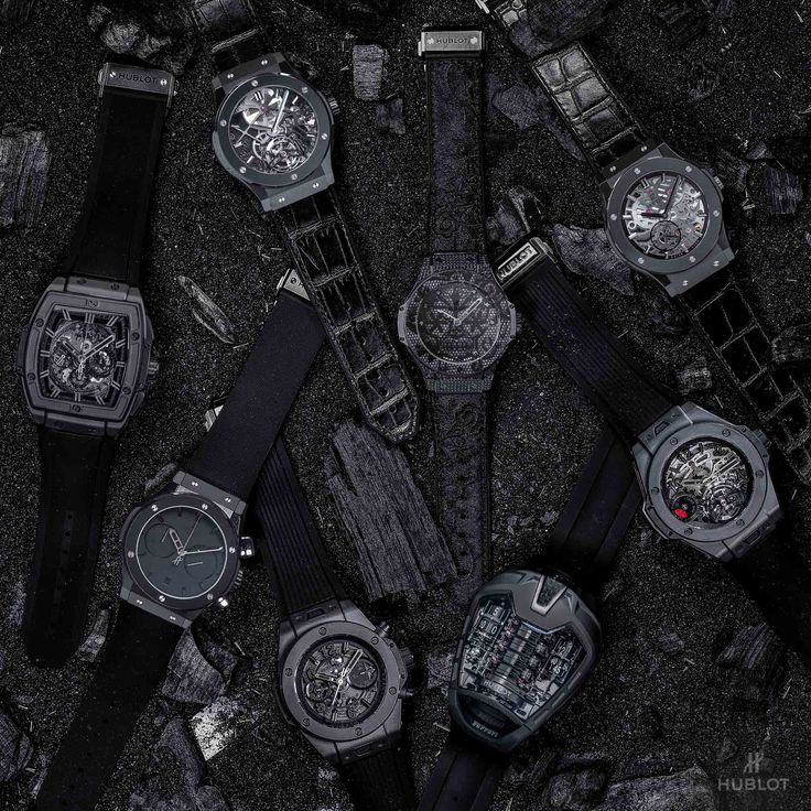 10th Anniversary Hublot All Black Concept