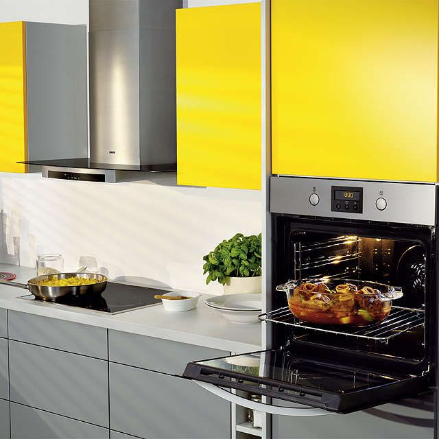 BuyZanussi ZOP37902BE Built-In Single Electric Oven, Stainless Steel Online at johnlewis.com