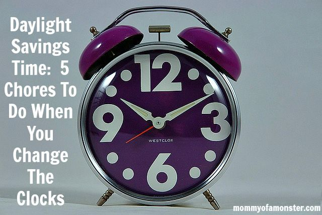 Wondering when does the time change? Whether you are springing forward or falling back, this list of household chores to do semi-annually is worth a bookmark!