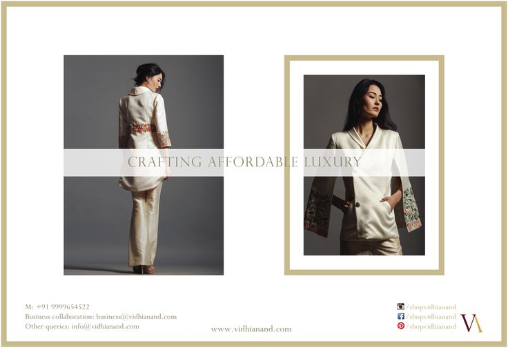 VA advertisement in T3FS Fashion and Lifestyle magazine, India.