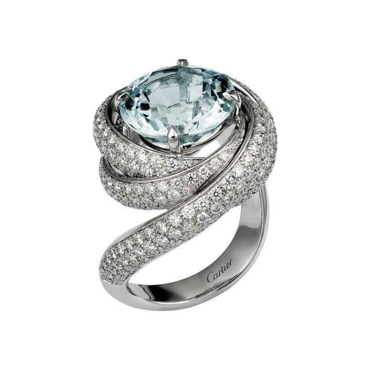Super Oltre 25 fantastiche idee su Anelli di diamanti cartier su  KQ25