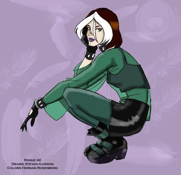 Rogue-Xmen Evolution (X-Men) Custom Action Figure