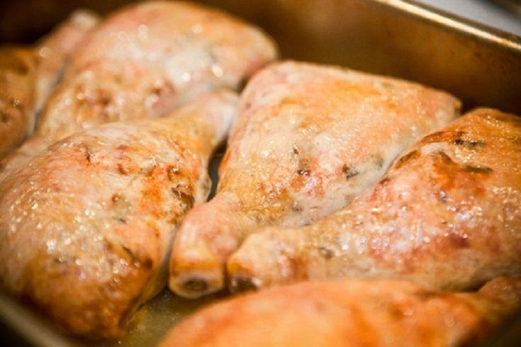 фаршированные куриные голени