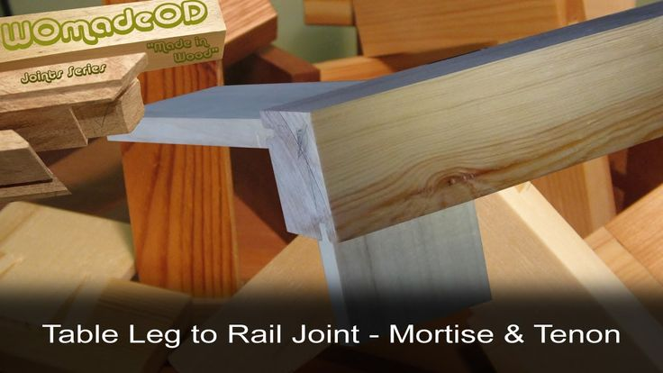 1000 images about joinery mortise tenon on pinterest for Table joints