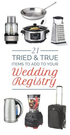 21 Items That Are Worthy Of Your Wedding Registry