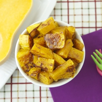 Cinnamon Maple Roast Butternut Squash - Save favorite recipes on Pinterest right to your recipe box. get.ziplist.com/clipper