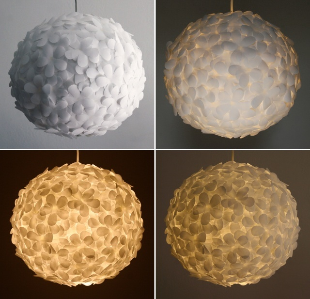 196 best paper lanterns images on pinterest paper lanterns craft diy paper lantern made with vellum flower craft punch and glue aloadofball Image collections