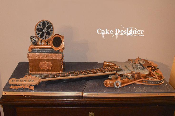 Cake Designer per caso [ Steampunk Stratocake ]