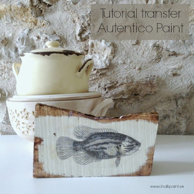 Tutorial transferencia chalk paint                              …