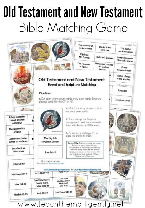 Scripture Matching Cards printable! Great #homeschool and #discipleship tool!
