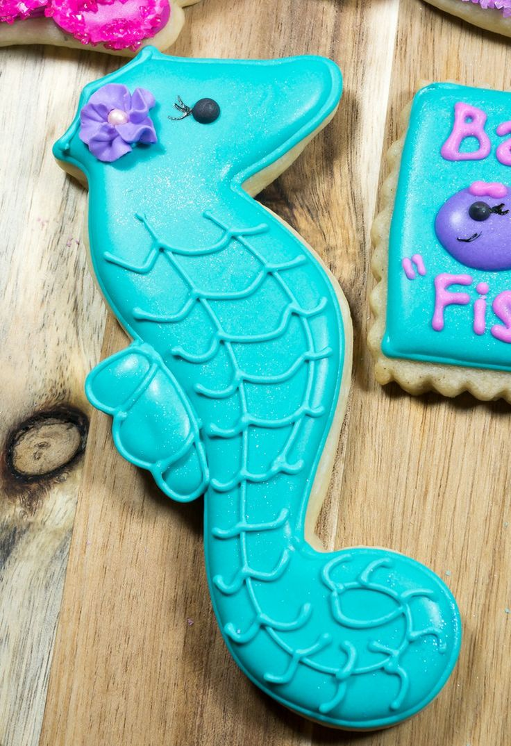 Aquatic Themed Baby Shower - Seahorse