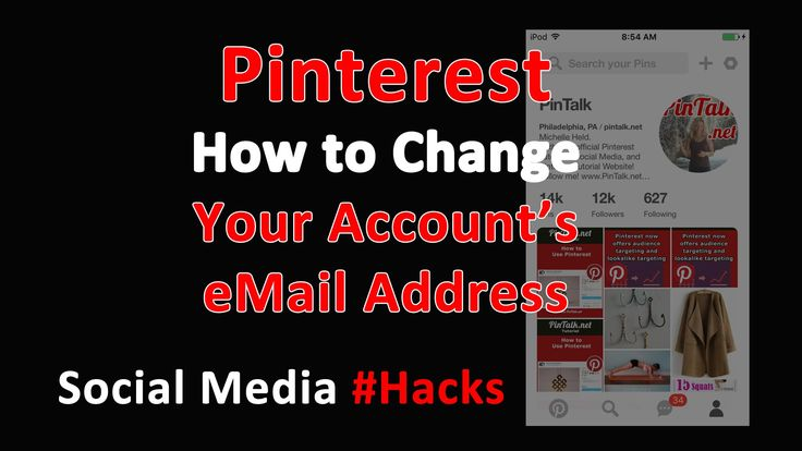 how to change pinterest account on chrome