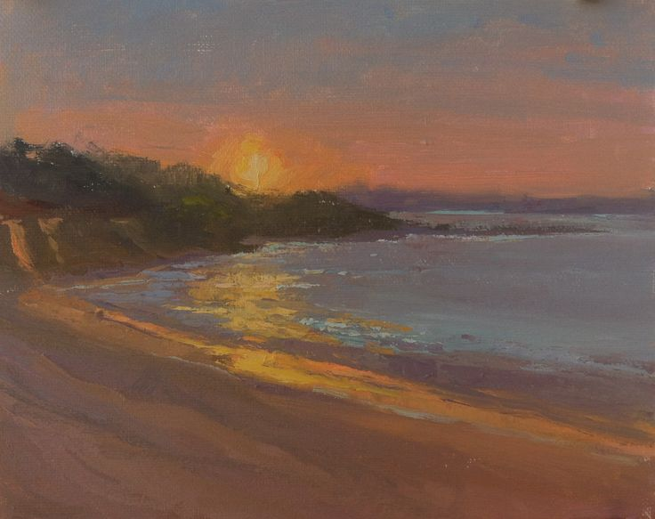 """Brand New Day"" 8"" x 10"" Private Collection Sunrise on Indian Pass Beach in Florida's Forgotten Coast"